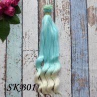Волосы для кукол SKB01