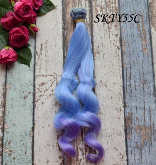 Волосы для кукол SKTY55C • VSKTY55C 25