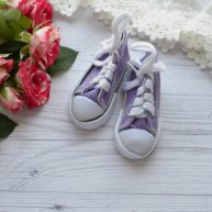 Кеды  для кукол фиолетовые УЦЕНКА YK02