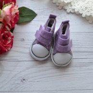 Кеды  для кукол фиолетовые УЦЕНКА YK13
