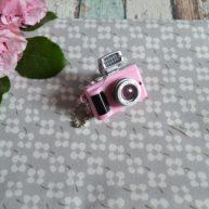 Мини фотоаппарат для куклы розовый