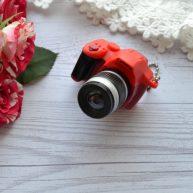 Мини фотоаппарат для куклы красный
