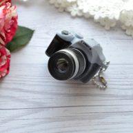 Мини фотоаппарат для куклы серый