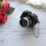 Мини фотоаппарат для куклы черный