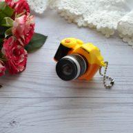 Фотоаппарат для куклы желтый 53*50*34мм