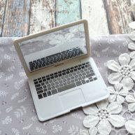 Ноутбук для кукол с зеркалом AL01