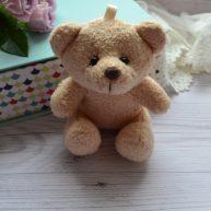 Мишка для куклы 10см коричневый