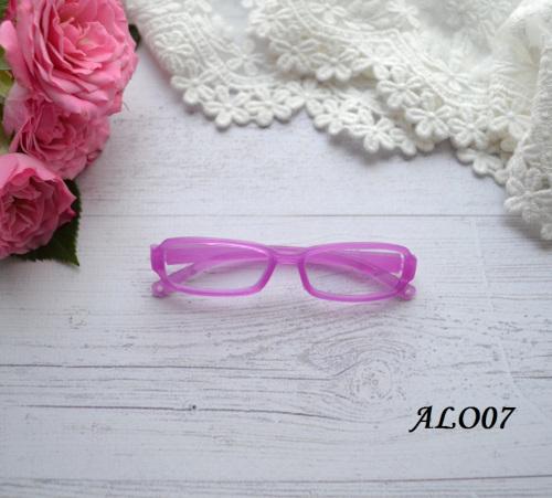 Очки  для куклы розовые 8*2см • ALO07