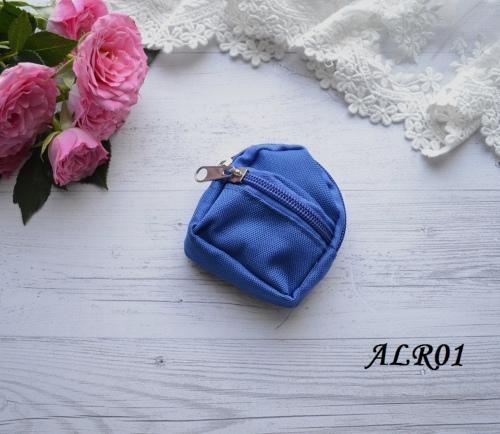 Рюкзак  для куклы синий • ALR01