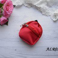 Рюкзак  для куклы красный