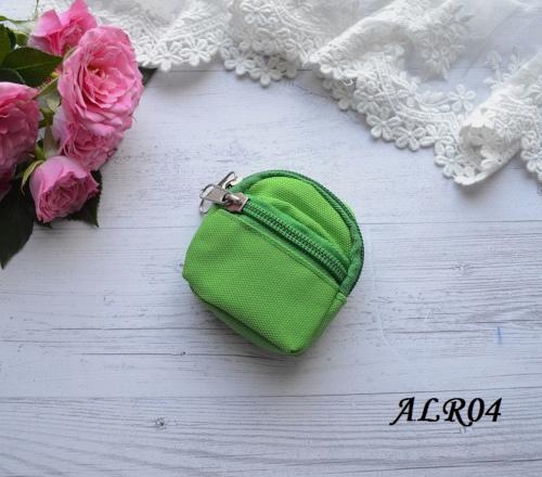 Рюкзак для кукол зеленый 75*72мм