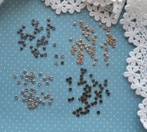 Пуговицы бронза 3мм • B001 1