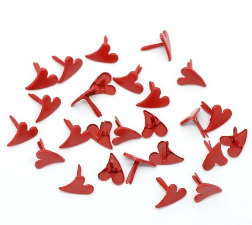 Брадсы красное сердечко • BR05