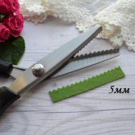 Ножницы зигзаг для фетра 5мм