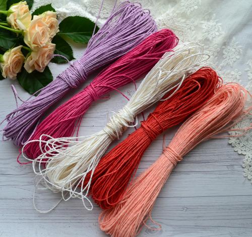 • <h5>Шнур рисовый фиолетовый для скрапбукинга</h5>  Цена указана за 1 метр.