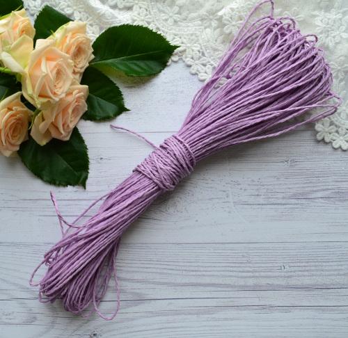Шнур рисовый фиолетовый 1.5мм