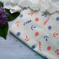 Хлопковая ткань для рукоделия TKK021