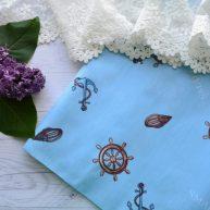 Хлопковая ткань  для рукоделия TKK040