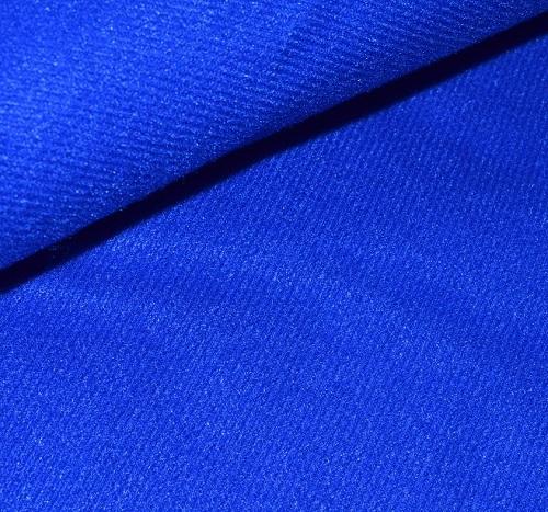 Велькроткань на клеевой основе синяя • V05