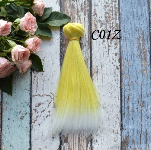 Волосы для кукол прямые C01Z • VC01Z 15