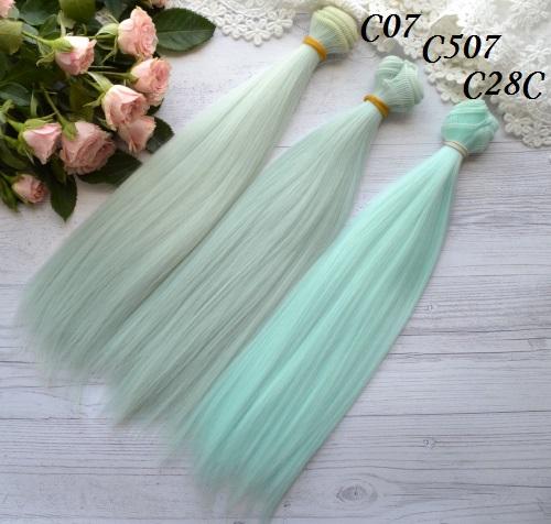 Волосы для кукол прямые C07 • VC07 1
