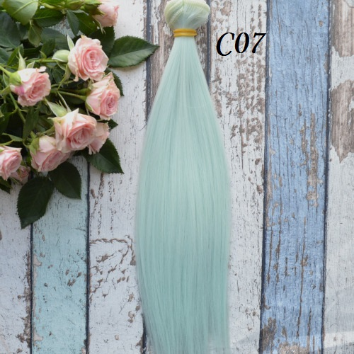 Волосы для кукол прямые C07 • VC07 25