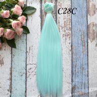 Волосы для кукол прямые C28C