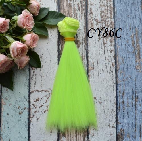 Волосы для кукол прямые CY86C • VCY86C 15