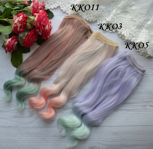 Волосы для кукол KKO11 • VKKO11 1