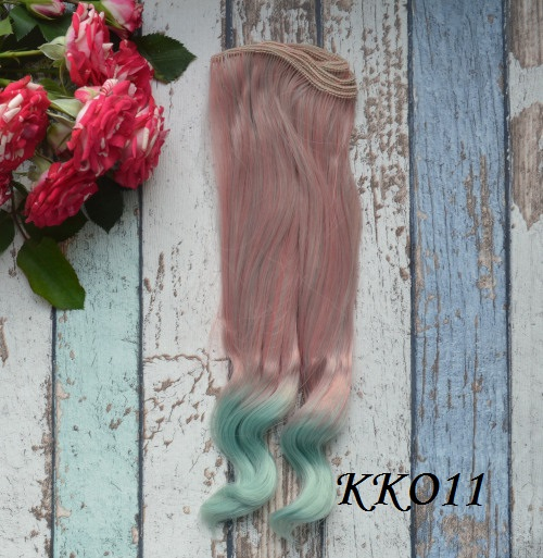 Волосы для кукол KKO11 • VKKO11