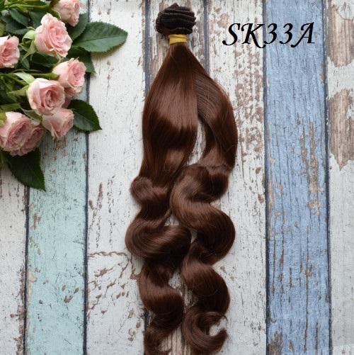 Волосы для кукол SK33A • VSK33A 25