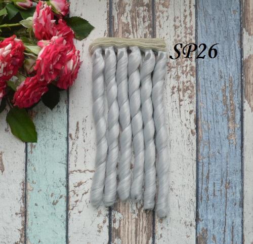 Волосы для кукол спиральки SP26 • VSP26