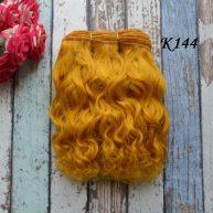 Волосы для кукол Козочка рыжие 15см К144 Остаток 1,25м.