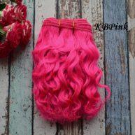 Волосы Козочка для кукол КBPink