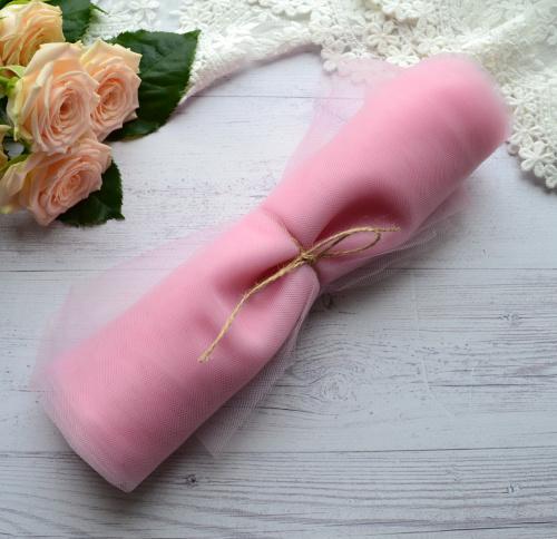Фатин средней жескости Розовый TF08 • tf08