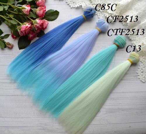 Волосы для кукол прямые CTF2513 • VC85C 2