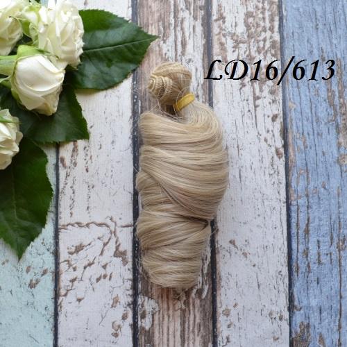Волосы для кукол локоны LD16/613 • VLD16613