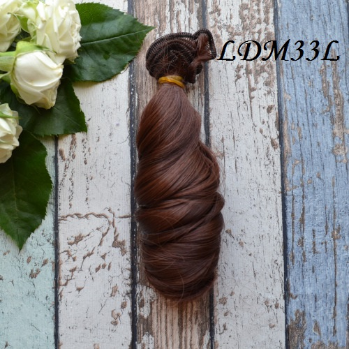 Волосы для кукол локоны LDM33L • VLDM33L