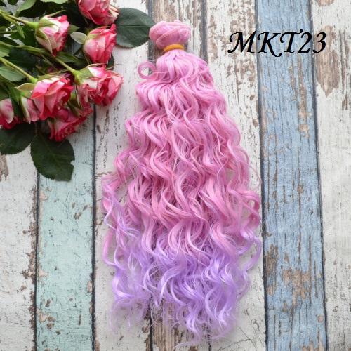 Волосы для кукол MKT23 • VMKT23