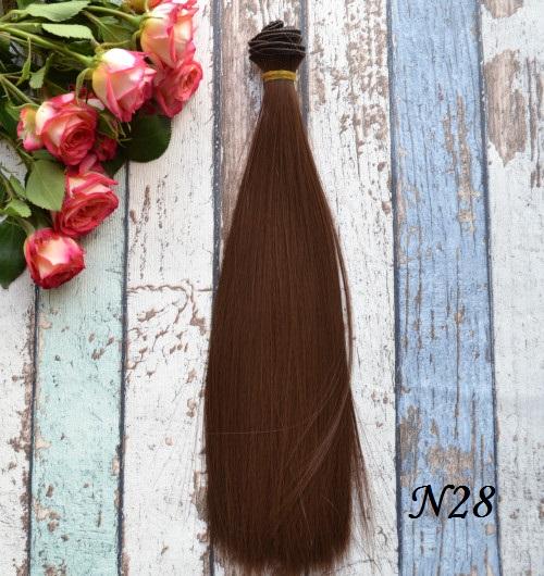Волосы для кукол 30см  N28 • VN28 30