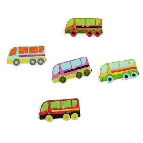 • Пуговицы автобус . Размер 30*15 мм Цена указана за 5 шт. Цвет - микс.