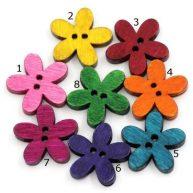 Пуговицы Цветы. Остаток