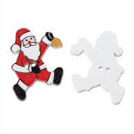 Пуговицы Санта Клаус 2