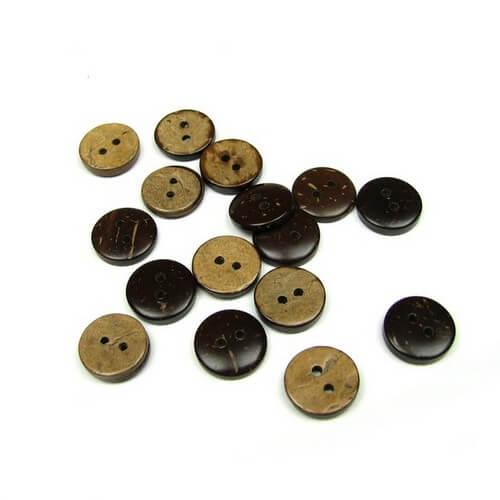 Пуговицы для детской одежды 12мм Кокос B139