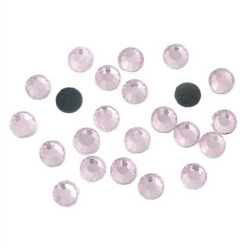Cтразы цинвальдовые фиолетовые 2,8мм. 50шт. • mf96