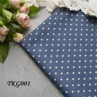 Джинсовая ткань  для рукоделия TKG001. Отрез 20*50см
