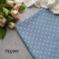 Джинсовая ткань  для рукоделия TKG002. Отрез 20*50см