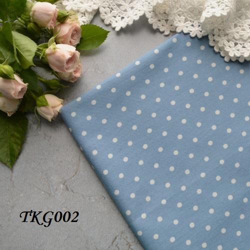 • Джинсовая ткань, Китай. Ширина ткани 148см. Размер горошка 5мм. Цена указана за 1 отрез 1 отрез – 23*50см