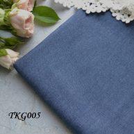 Джинсовая ткань  для рукоделия TKG005. Отрез 20*50см