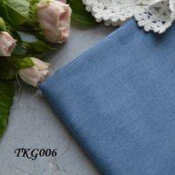 Джинсовая ткань  для рукоделия TKG006. Отрез 20*50см